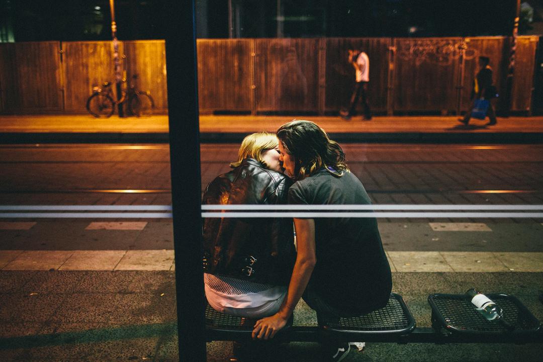 Mein erster Kuss war…